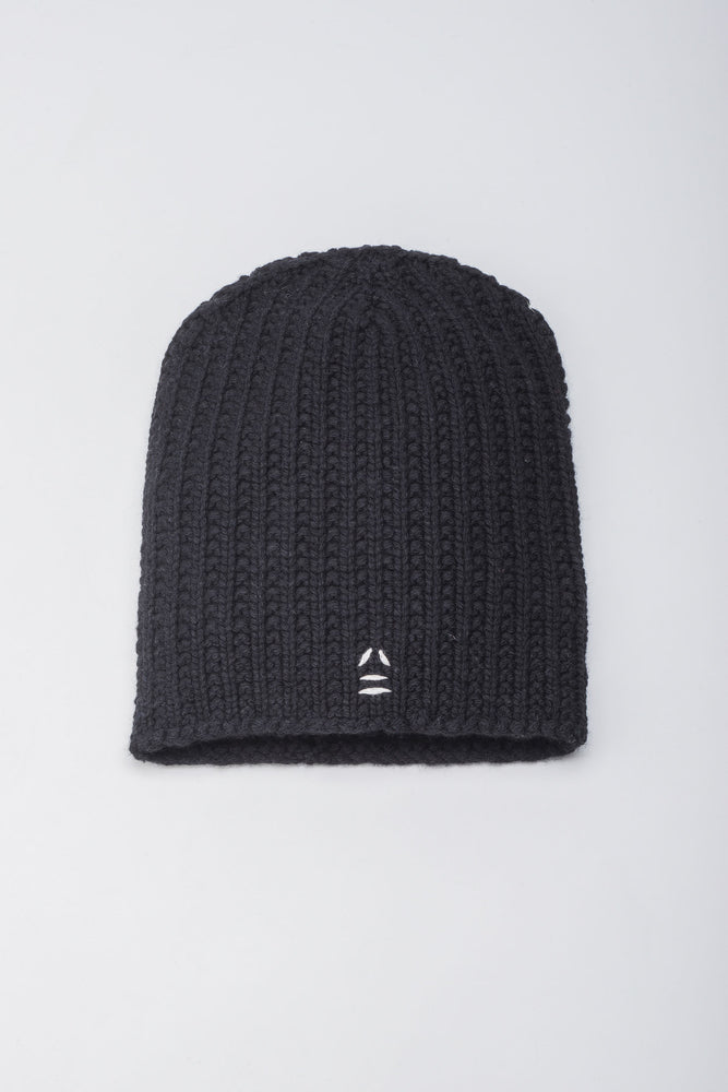 Load image into Gallery viewer, Wanderer Black Beanie