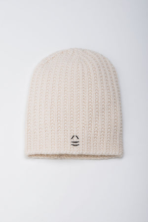 Load image into Gallery viewer, Wanderer White Beanie