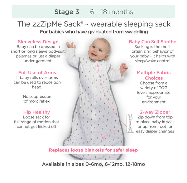 Stage Three zzZipMe Sleeping Sacks