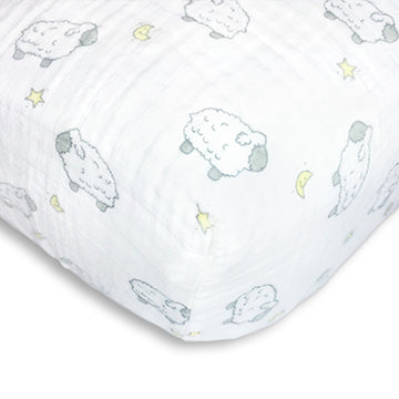 cotton muslin crib sheets
