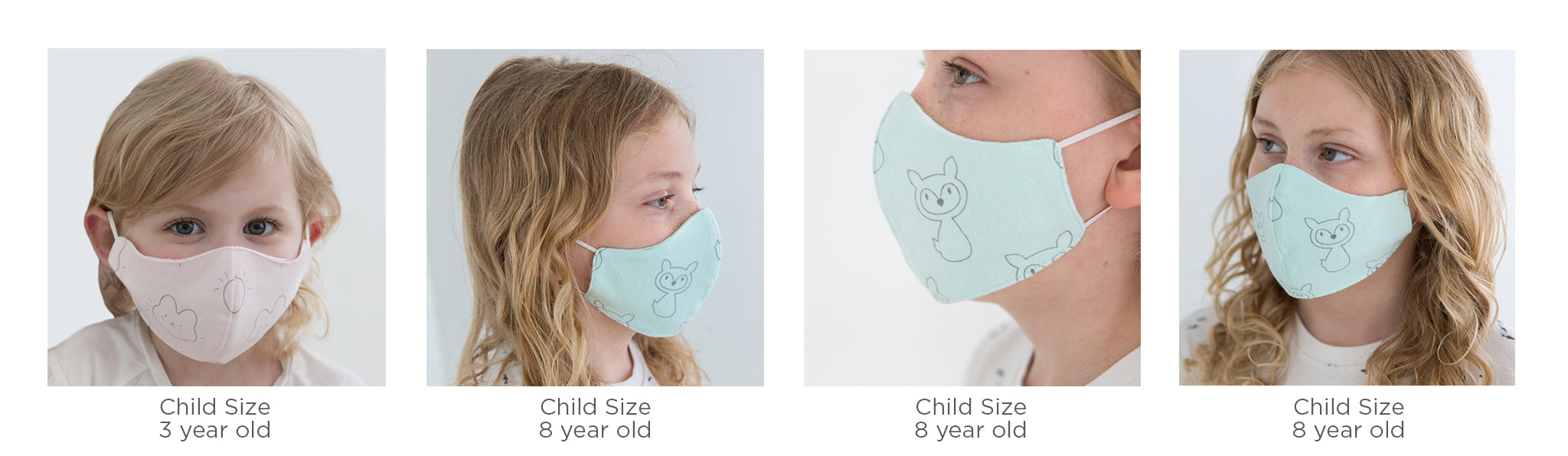 Child Fabric Facemasks