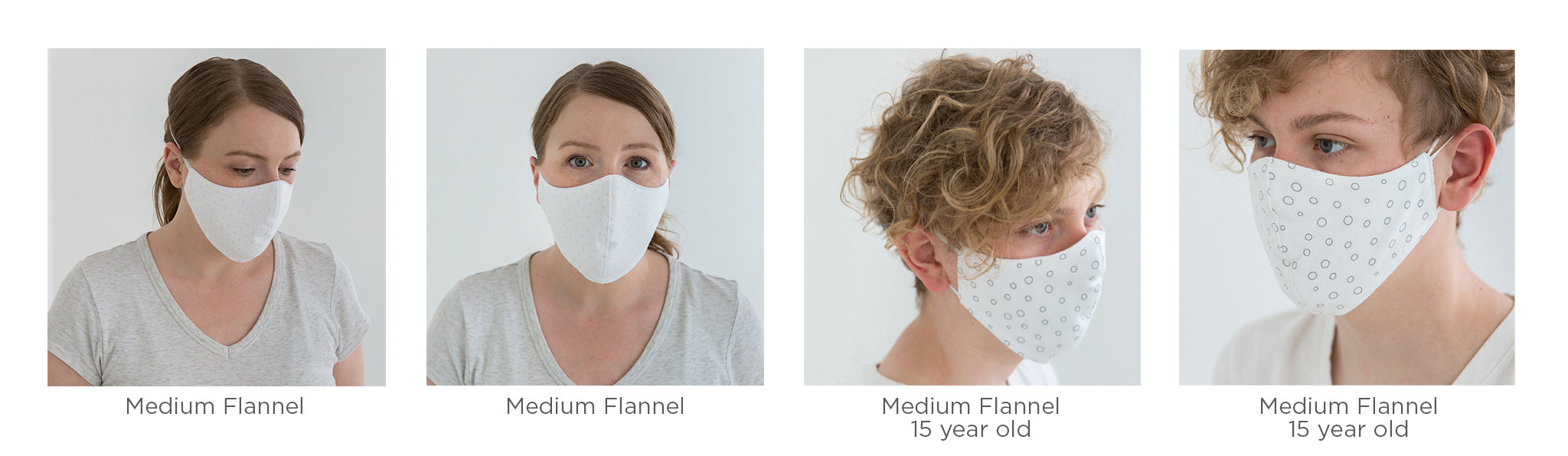 Medium Flannel Facemasks