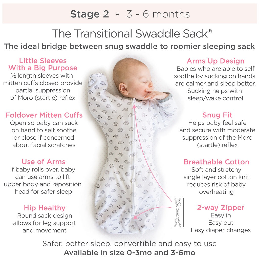 Transitional Swaddle Sack Info