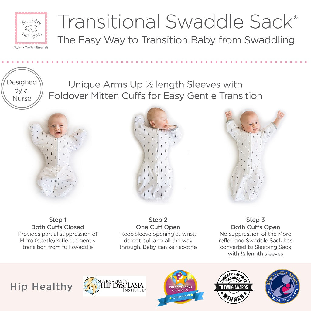 Transitional Swaddle Sack Easy Way to Transition a Baby from Swaddling