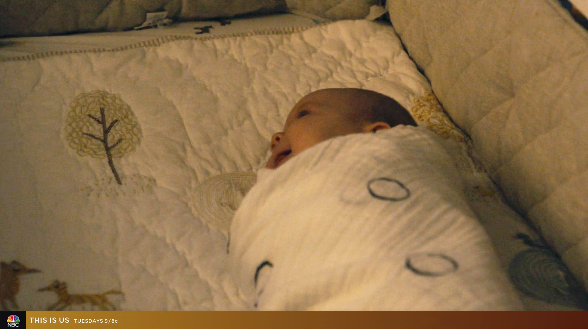 SwaddleDesigns Ring Muslin Swaddle on NBC This is Us