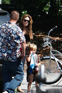 Shiloh Jolie Pitt with Baby Lovie