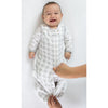 Cozy Puff zzZipMe Sack + Gown Set, True Blue