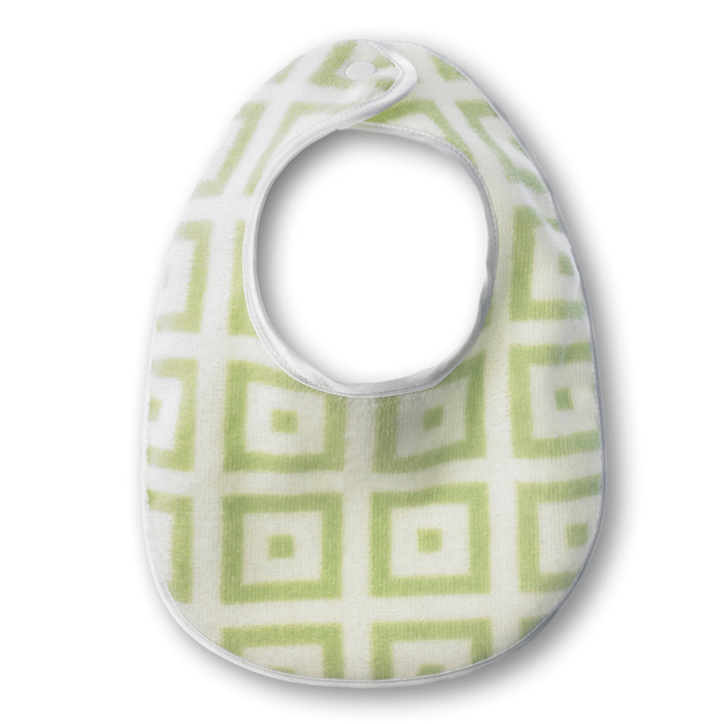 Bitty Bib - Mod Squares - Personalize It