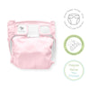 SmartNappy NextGen Hybrid Reusable Cloth Diaper Cover + 1 Reusable Insert + 1 Reusable Booster - Pastel Pink