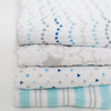 Muslin Swaddle Blankets - Starshine Shimmer (Set of 4), Blue