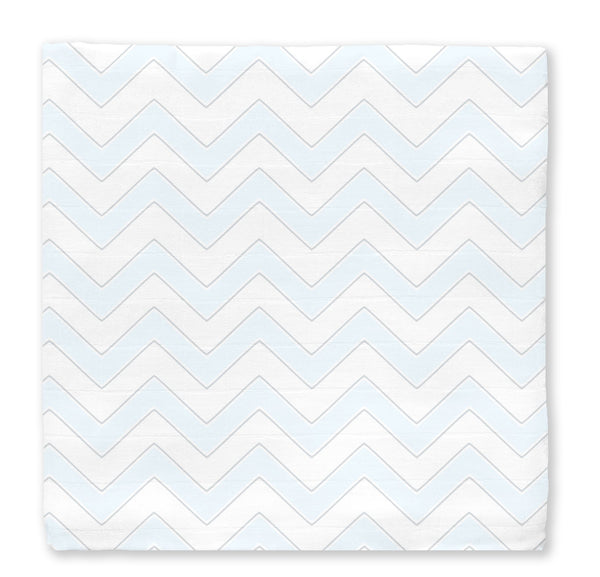 Muslin Swaddle Blanket - Chevron