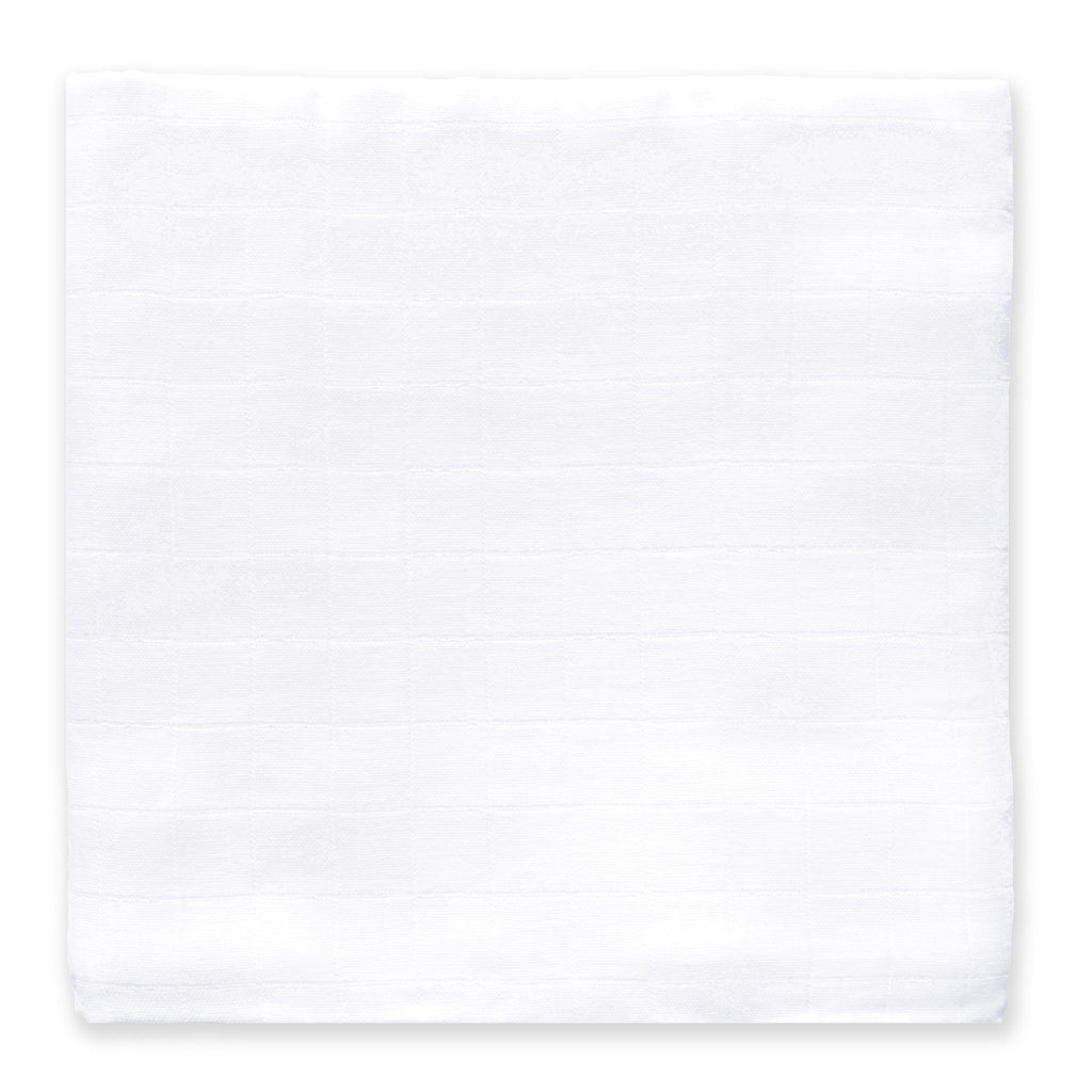 Muslin Swaddle Single - White