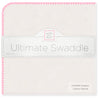 Organic Ultimate Swaddle Blanket - Pink Trim