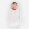 Baby Velvet zzZipMe Sack - Ultimate, Muslin Swaddle Newborn Gift Set, Pastel Pink