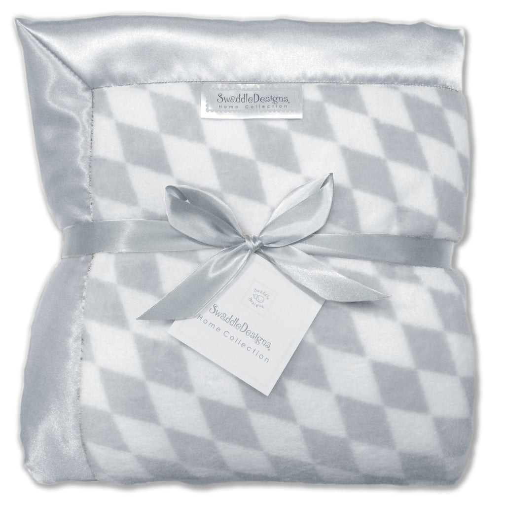 Adult Luxury Throw - Forever Diamonds, Sterling - Customized