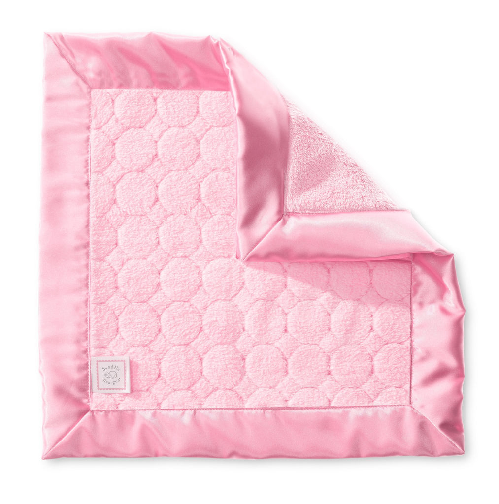Cozy Baby Lovie - Puff Circles, Pink - Customized