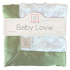 Baby Lovie -  Plush Dots, Kiwi