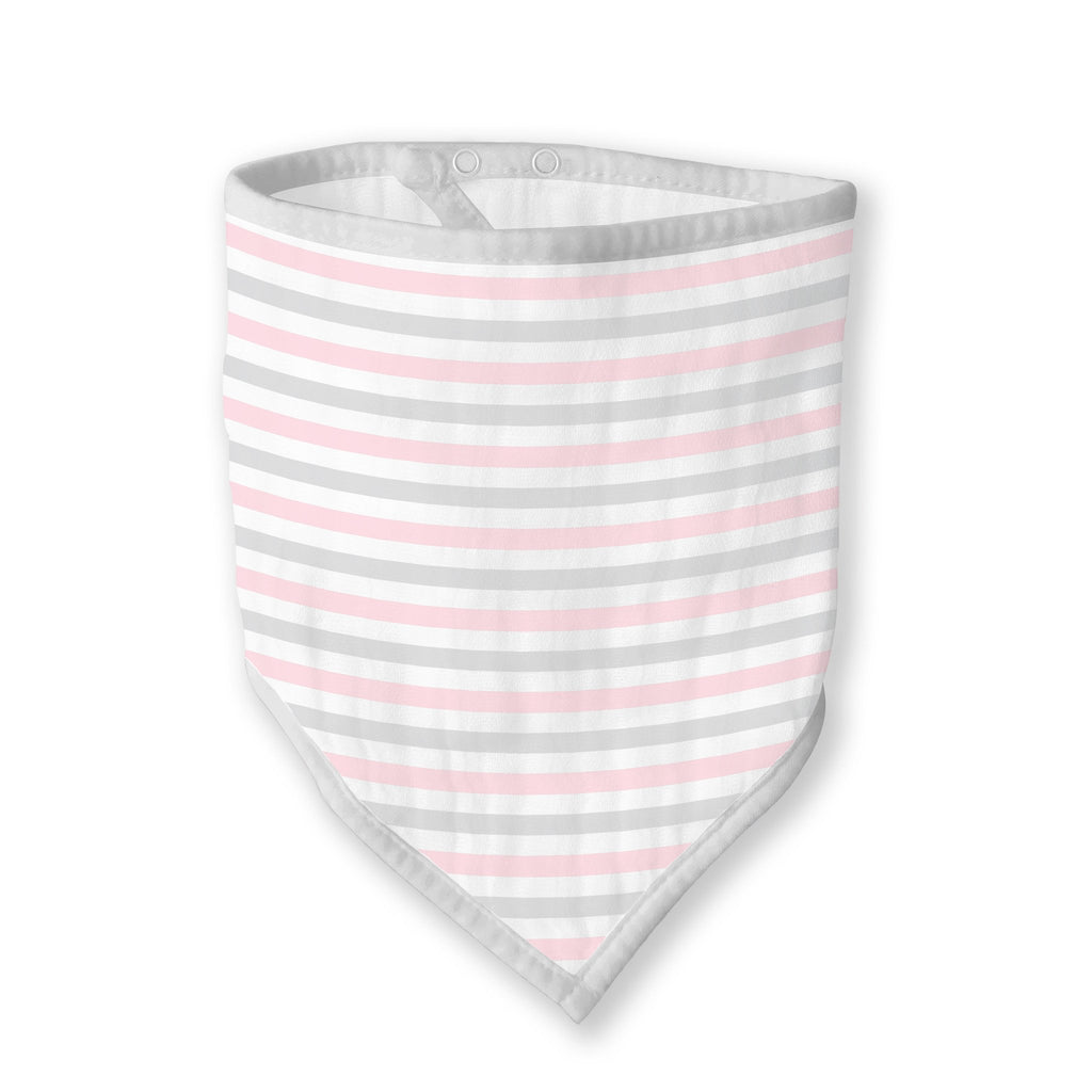 Marquisette Bandana Bib - Simple Stripes