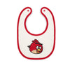 Small Baby Bib - Red Bird