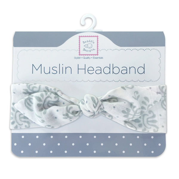 Muslin Headband - Lillie with Shimmer