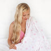Muslin Swaddle Blankets - Sterling Starshine Shimmer (Set of 4)