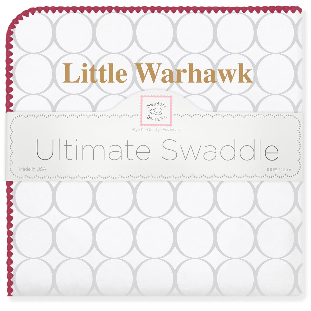 Ultimate Swaddle Blanket - Louisiana - Little Warhawk