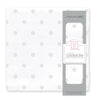 Muslin Swaddle Single - French Dots, Sterling