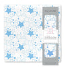 Muslin Swaddle Single - Blue Starshine Single