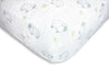 Muslin Fitted Crib Sheet - Little Lambs