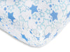 Muslin Fitted Crib Sheet - Starshine - Blue