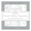 Muslin Squares - Classic Collection (Set of 3)