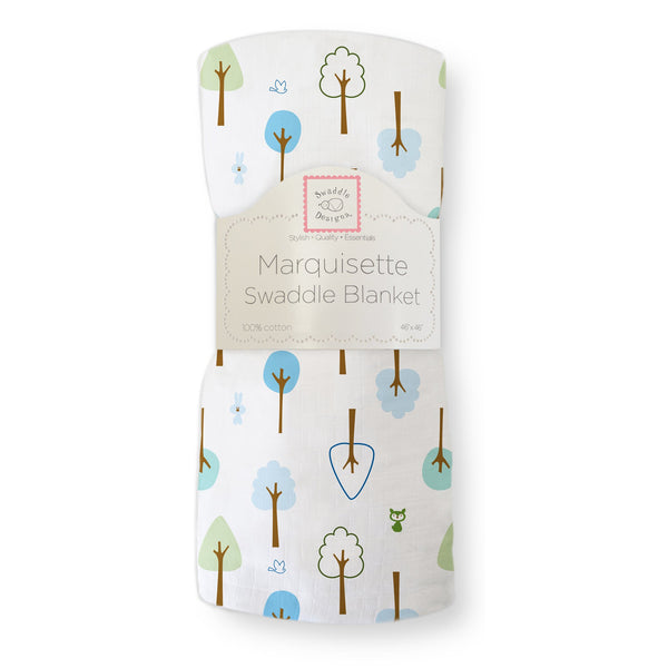 Marquisette Swaddle Blanket - Cute and Calm
