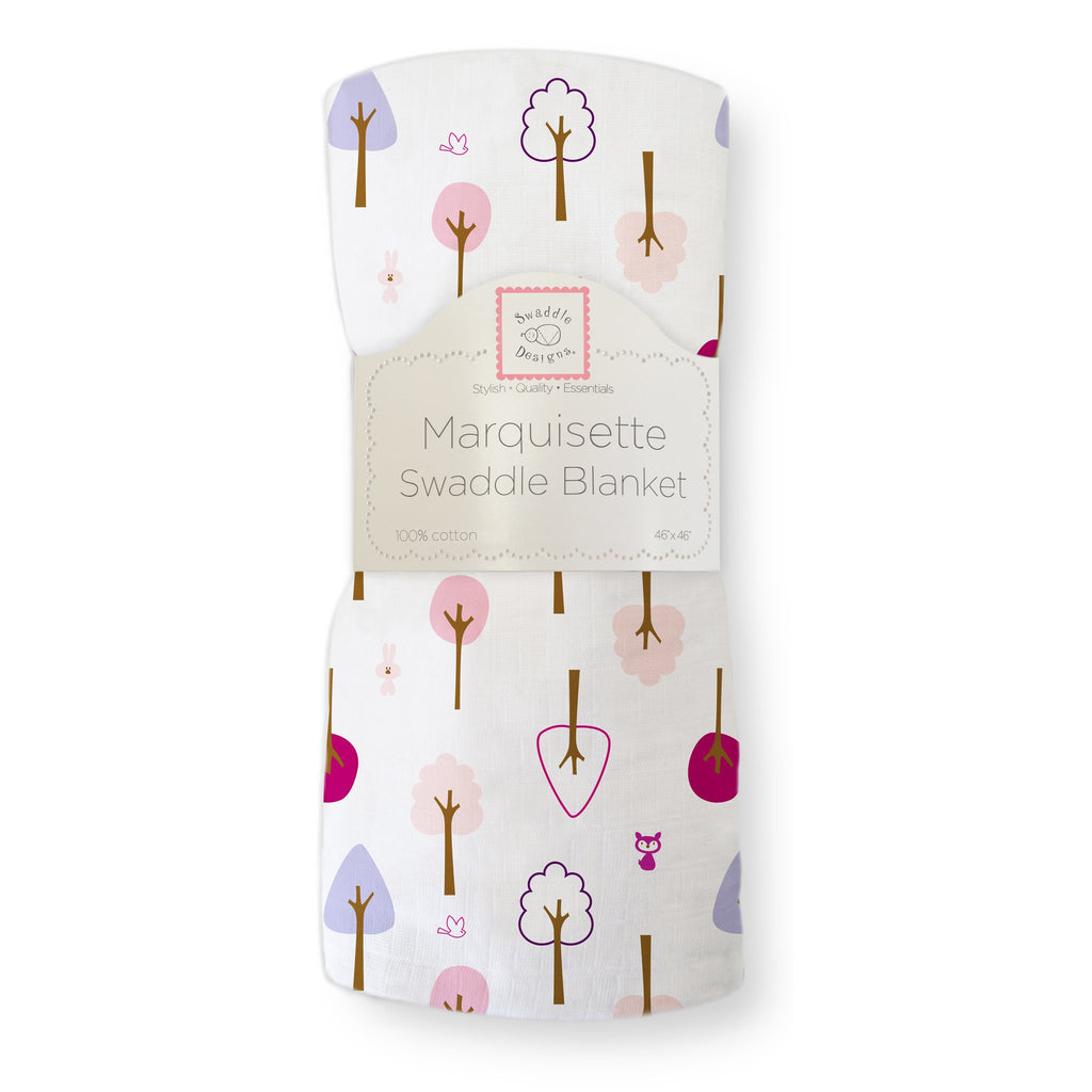 Marquisette Swaddle Blanket Cute And Calm Very Berry Swaddledesigns