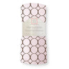 Summer Swaddle® - Pastel Pink with Brown Mod Circles