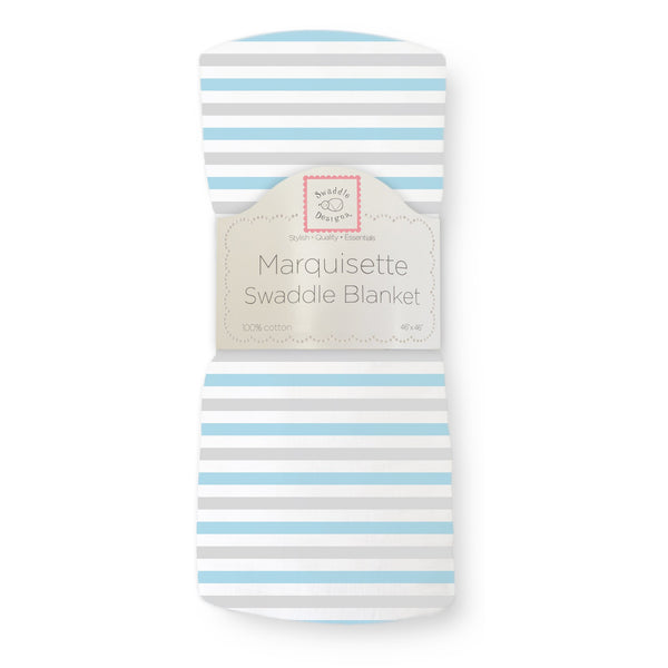 Marquisette Swaddle Blanket - Watercolor Multi Dots