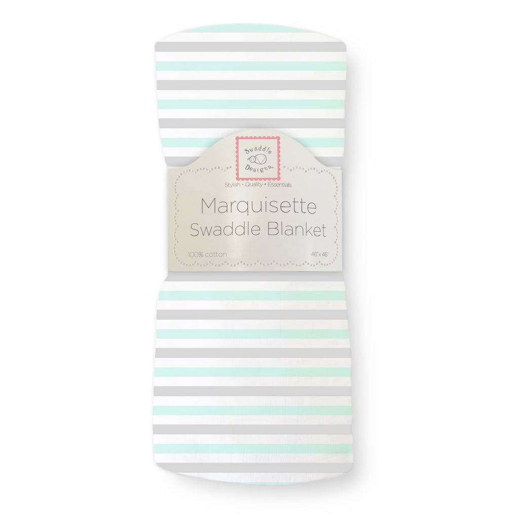 Marquisette Swaddle Blanket - Watercolor Cupcakes