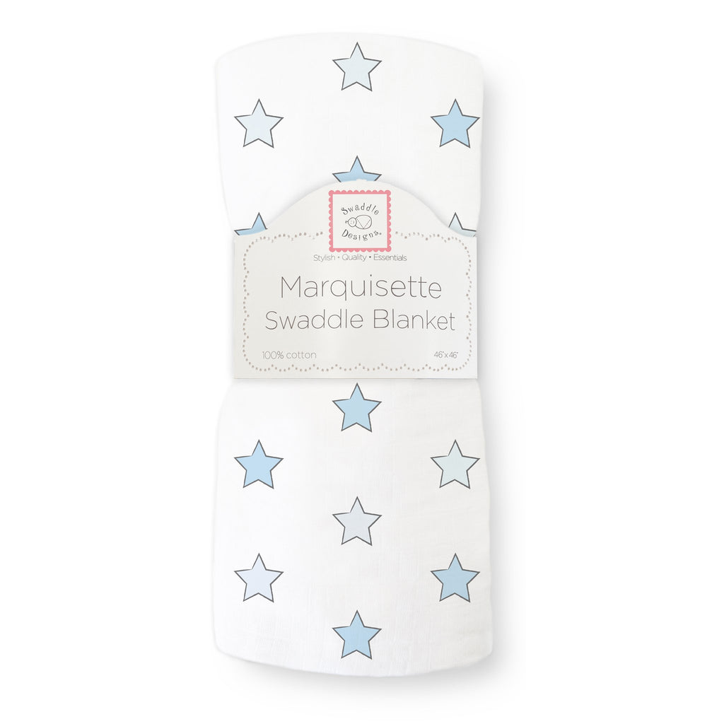 Marquisette Swaddle Blanket - Astro