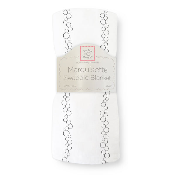 Marquisette Swaddle Blanket - Champagne
