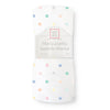 Marquisette Swaddle Blanket - Watercolor Mini Multi Dots