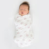 Marquisette Swaddle Blankets - Aimee and Bubble Dots