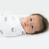 SwaddleLite - Celebrate White and Soft Black