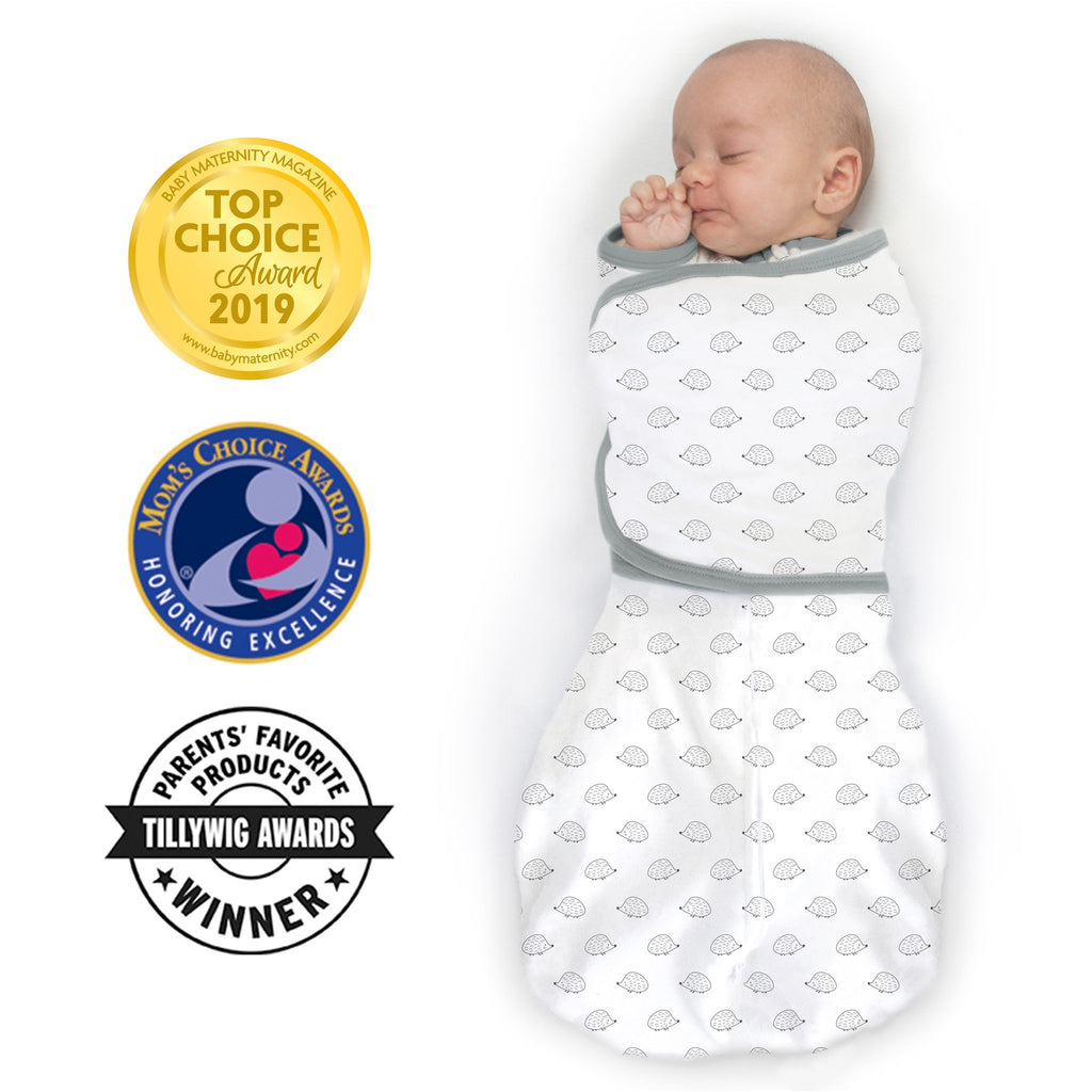Omni Swaddle Sack with Wrap -  Arms Up Sleeves & Mitten Cuffs