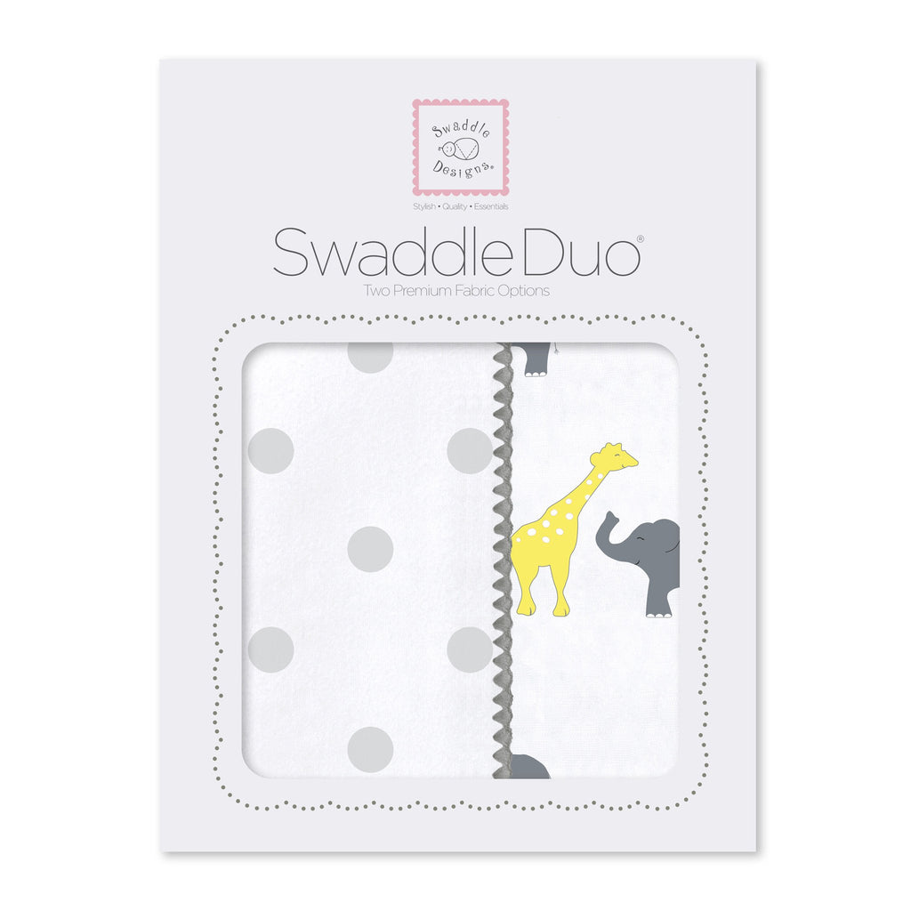 SwaddleDuo - Big Dot Safari Fun