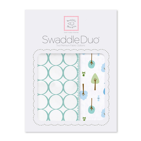 SwaddleDuo - Cute and Calm, SeaCrystal