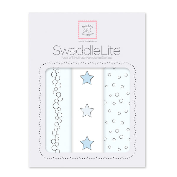 SwaddleLite - Celebrate, Blue