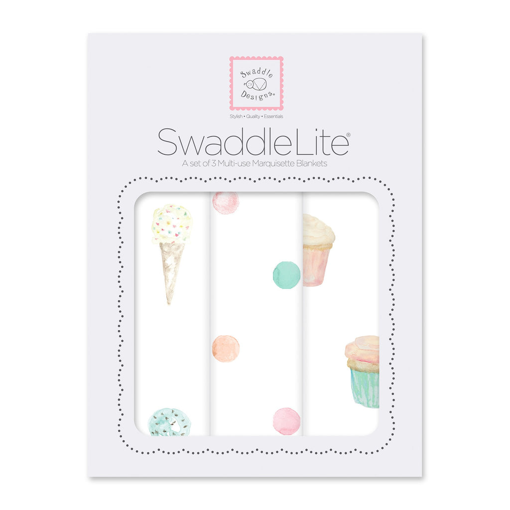 SwaddleLite - Watercolor Life's a Party