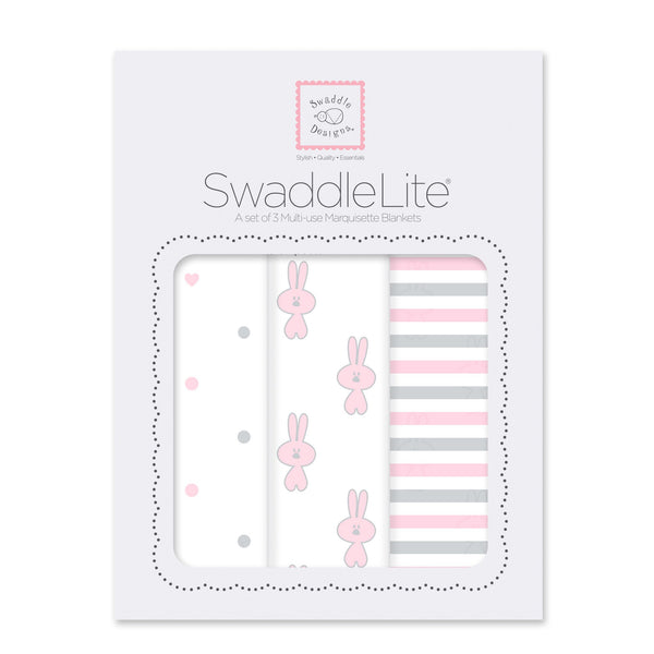 SwaddleLite - Little Bunnie (Set of 3)