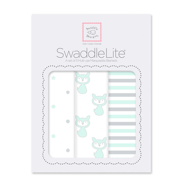 SwaddleLite - Little Fox (Set of 3)