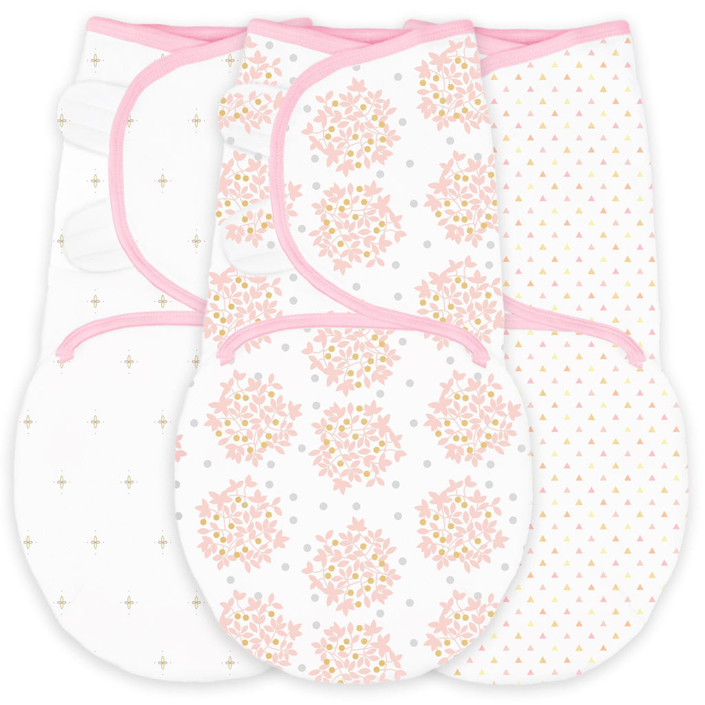 Swaddle Wrap - Premium Cotton (Set of 3) Heavenly Floral
