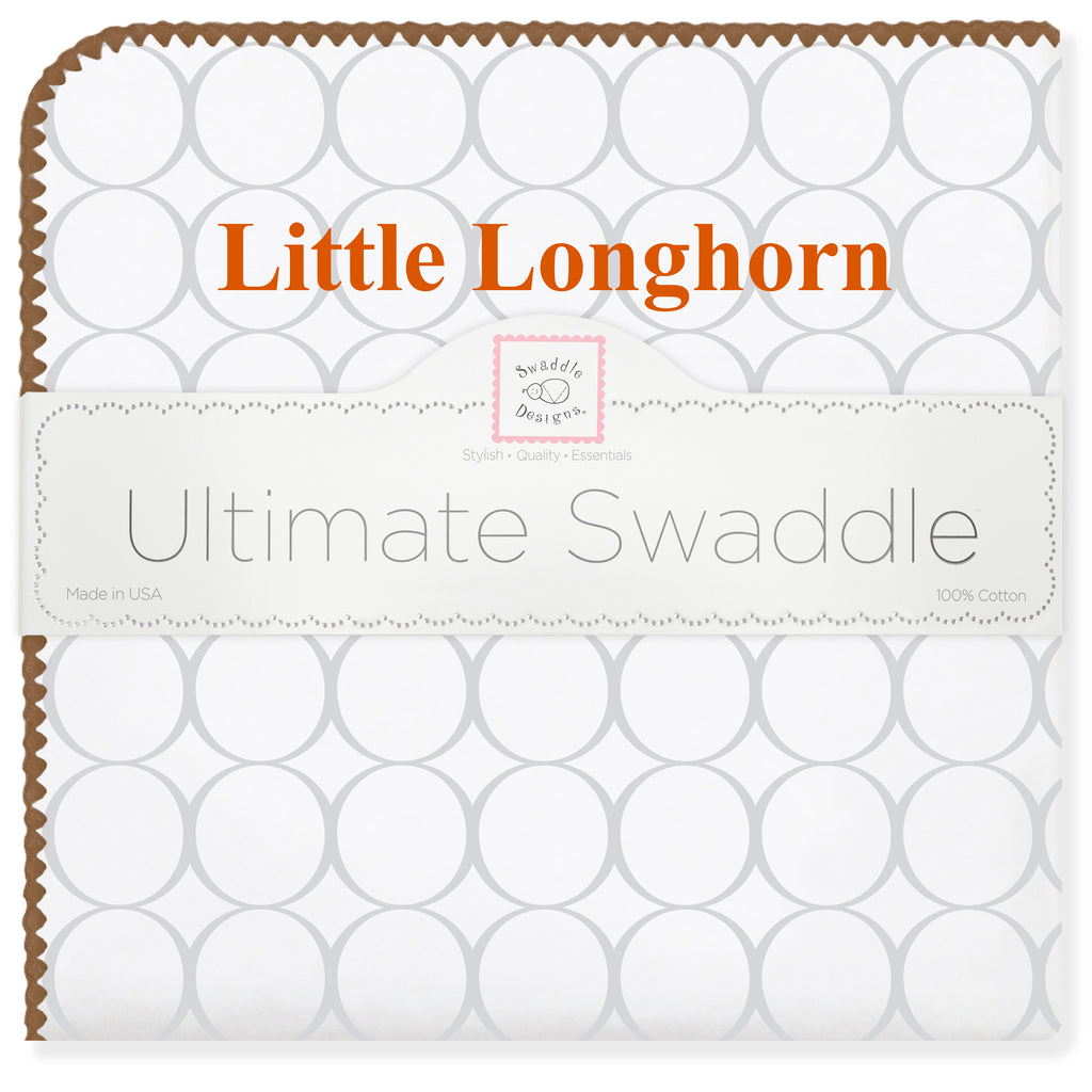 Ultimate Swaddle Blanket - Texas - Little Longhorn